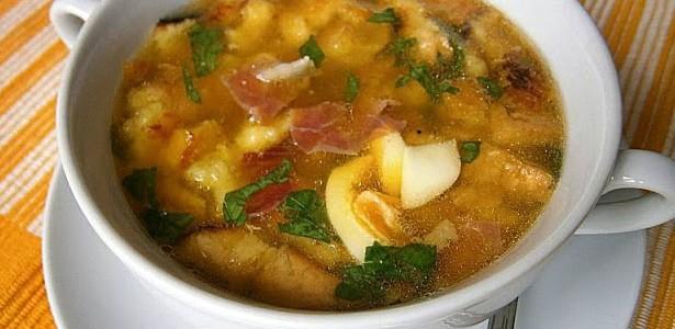 Sopa cubierta | Restaurante El Picaor