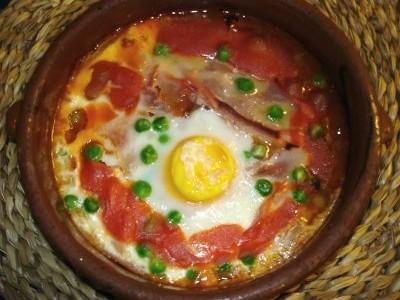 huevos al plato - el picaor