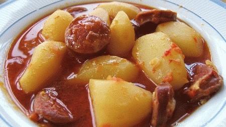 Patatas a la riojana | Restaurante El Picaor