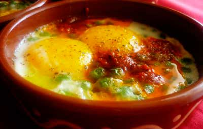 Huevos al plato | Restaurante El Picaor