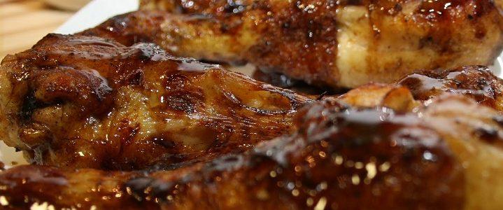 Muslos de pollo glaseados | Restaurante El Picaor