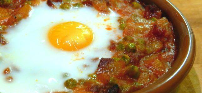 Huevos al plato - Restaurante El Picaor