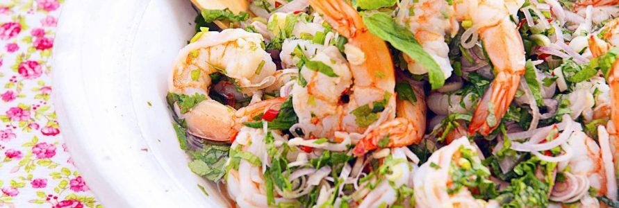 Ensalada de marisco | Restaurante El Picaor
