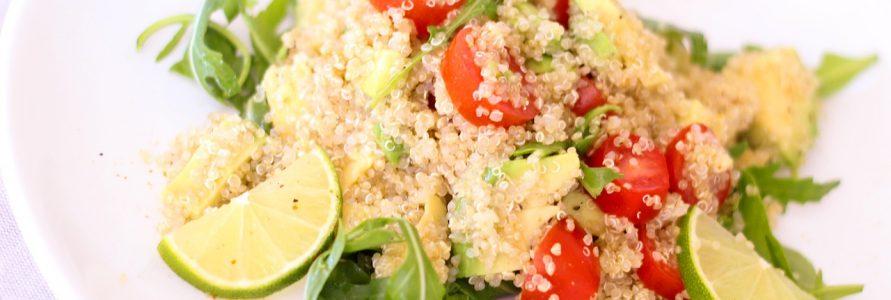 Ensalada de quinoa y verdura Restaurante El Picaor